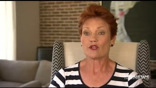 Going burqas: Pauline Hanson says not to vote One Nation if you want burqas