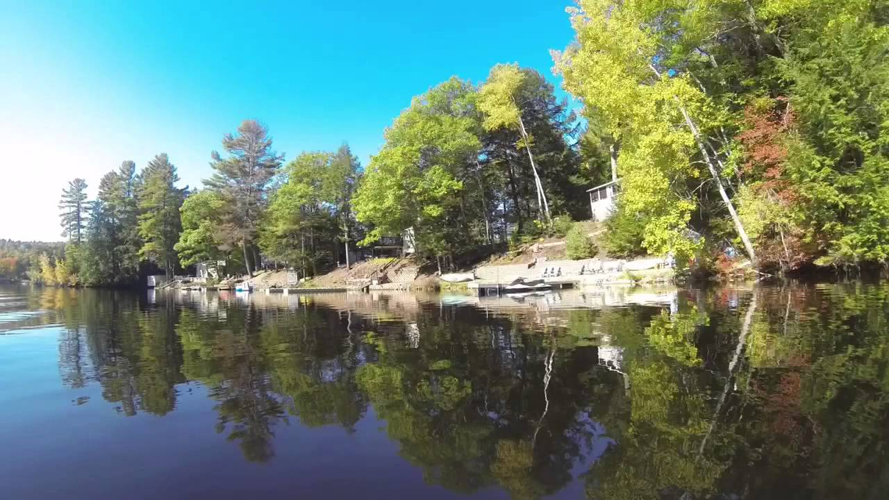 Sokokis lake limerick maine time lapse boat ride october for What time is it in maine right now