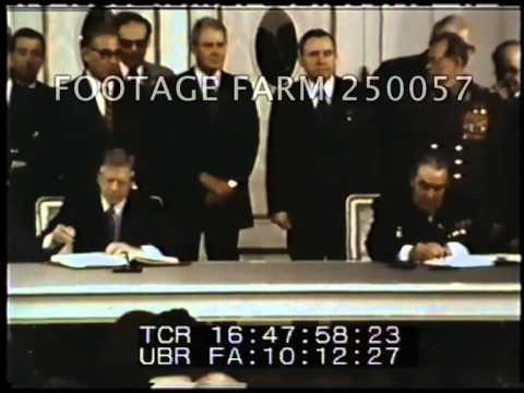 President Carter, Salt II Signing w/ Brezhnev 250057-05 | Footage Farm