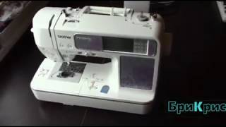 видео Вышивальная машина Brother INNOV-IS 90E (NV 90 E)