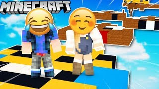 NOOB VS PRO - SKACZEMY PO EMOJI W MINECRAFT PARKOUR?! 😂 VITO VS BELLA