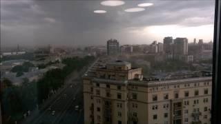 Ураган Шторм Ветер в Москве 29 мая 2017
