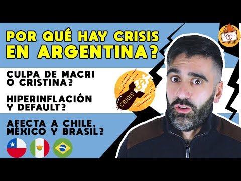 Por Qué Hay Crisis En Argentina? Peligro Afecta A Chile, México, Brasil | Fernández, Kirchner, Macri