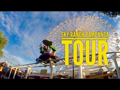 Sky Ranch Pampanga Amusement Park Tour San Fernando Revisited