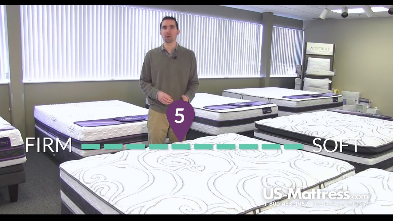 serta icomfort hybrid recognition plush mattress expert review youtube