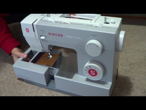 Singer Heavy Duty Sewing Machine 40 Unboxing YouTube Extraordinary Heavy Duty Singer Sewing Machine