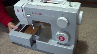 Singer Heavy Duty Sewing Machine (4411) Unboxing