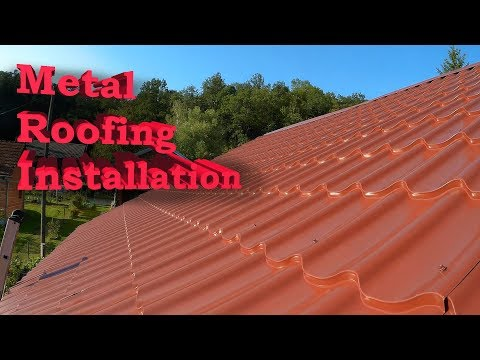 Metal Roofing Installation, Replacing old roof