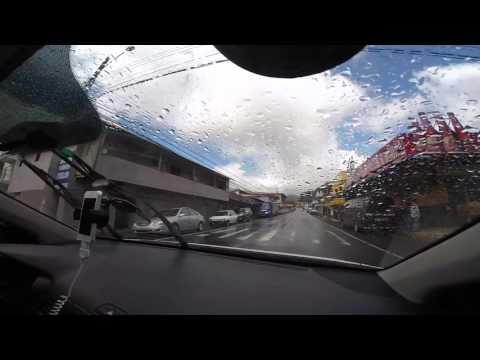 Panama Adventure  - Driving from David, Chiriqui to Boquete
