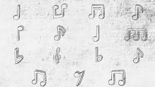 Music Notes Doodles 15 Pack  - After Effects template from Videohive