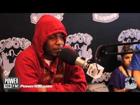 Kendrick Lamar talks album cover - good kid, m.A.A.d. city