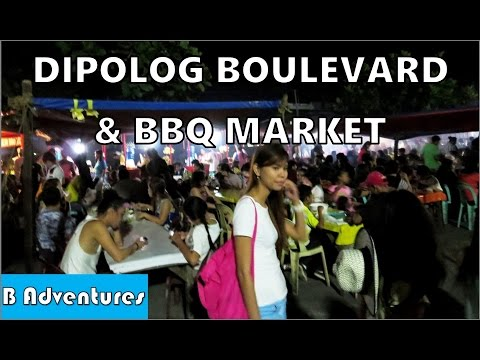 Dipolog Boulevard BBQ Market, Gabby's B&B Dumaguete, Philippines S2 Ep28