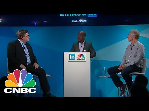 Linkedin Co-Founder Reid Hoffman And Web Icon Tim O'Reilly Debate The State Of Start Ups | CNBC