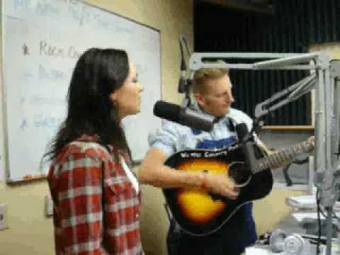 Joey & Rory performing