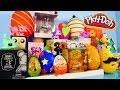 Play Doh Eggs Surprise Blind Box Unboxing Toys MLP Disney Vinylmation Kidrobot Playdough Videos