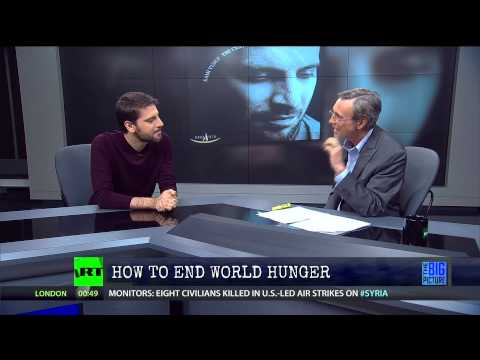 Singer Sami Yusuf - How to End World Hunger