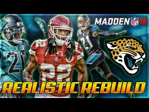 Rebuilding The Jacksonville Jaguars | Ramsey + Bouye + MARCUS PETERS! | Madden 18 Franchise