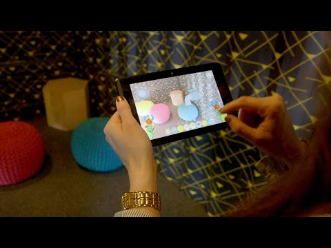 Googles Project Tango is as weird as ever
