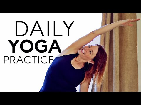 My Daily Yoga Practice / Routine With Fightmaster Yoga