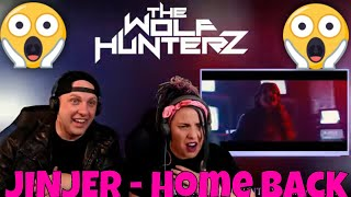 JINJER - Home Back (Official Video 4K)  Napalm Records | THE WOLF HUNTERZ Reactions