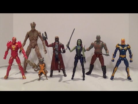 Marvel Legends Guardians of the Galaxy Action Figures Review