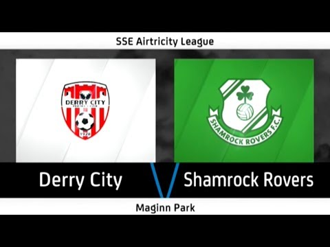 HIGHLIGHTS: Derry City 3-1 Shamrock Rovers