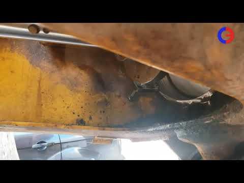 #СКБОМОСКВА | ремонт подшипника шарнирно-сочлененной рамы  volvo |  расточно-наплавочный комплекс