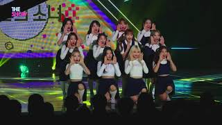 FanCam, LOONA, Hi High [THE SHOW 181002] 60P