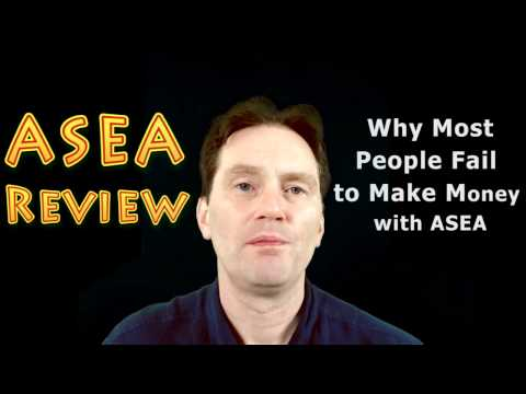 ASEA Review - Why Most People Fail to Make Money with ASEA