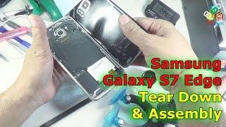 [Hindi-Audio]-Samsung Galaxy S7 Edge Tear Down, Parts View & Assembly