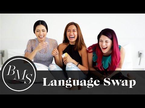 Language Swap with Olivia Lazuardy and Sarah Kate  Laureen Uy