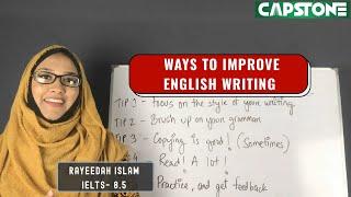 Ways To Improve English Writing