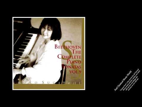 Shoko Sugitani: Beethoven Piano Sonatas Vol.9