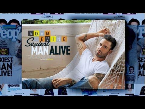 Maroon 5's Adam Levine Is People Magazine's 'Sexiest Man Alive'