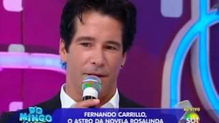 Domingo Legal - Fernando Carrillo conversa com Celso Portiolli