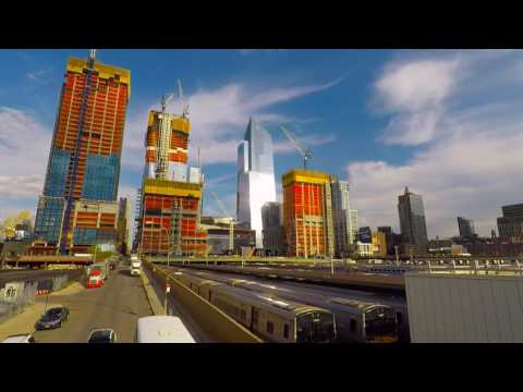 slowTV.network NYC Hudson Yards from High Line