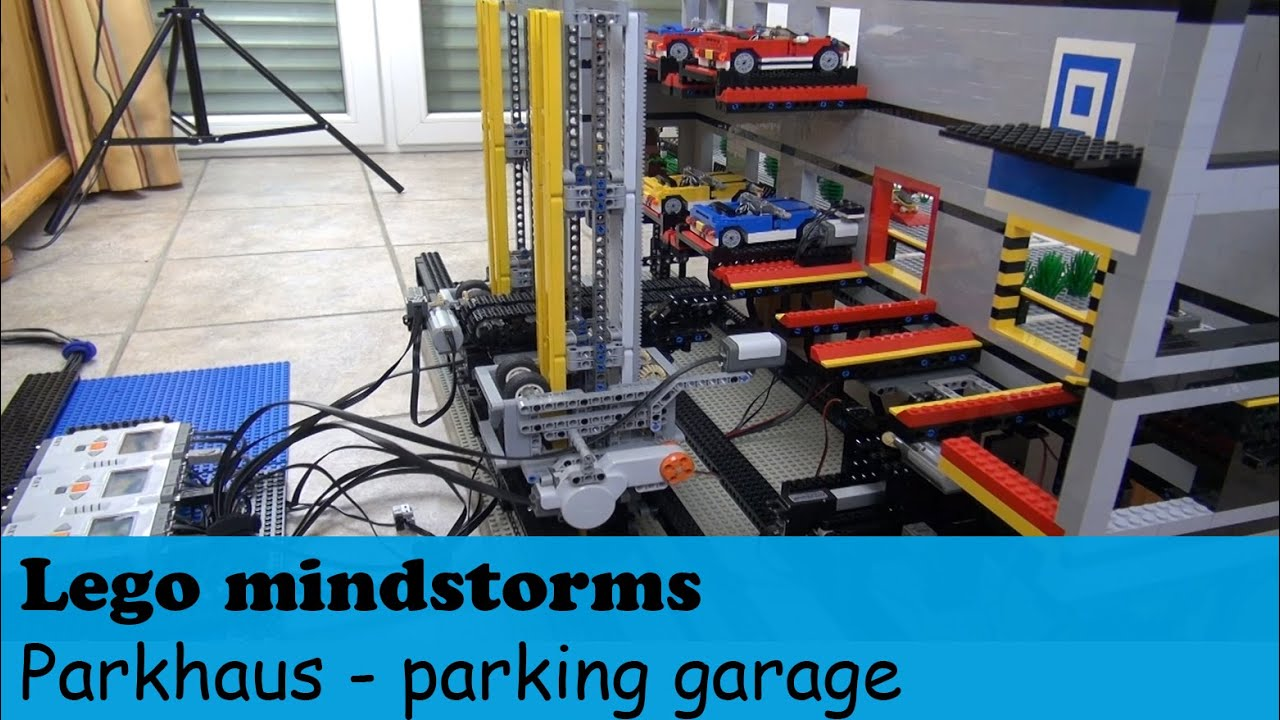 Automatisches Lego 174 Mindstorms Parkhaus Automated Lego