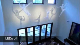 Lighted Wire Sculpture Michael Gard