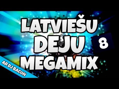 Latviešu Deju Megamikss 8 (By Dj Bacon) [2013]