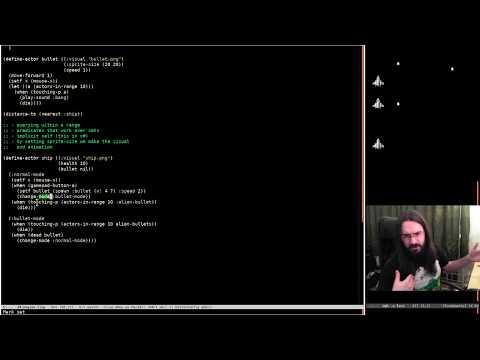 Pushing Pixels with Lisp - Episode 30 - Daft 2D Engine (Part 3)
