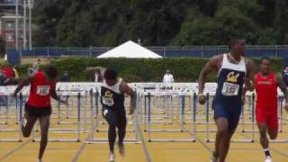 110H - High Hurdles Track and Field Video Footage: Cal
