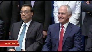 Thủ Tướng TQ thăm Australia, thúc đẩy quan hệ thương mại