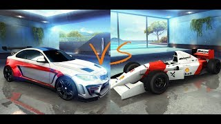 Asphalt 8 - BMW M2 SE 🆚 McLaren MP4/8