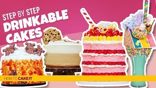 4 Drink Inspired CAKES! | Compilation | How To Cake It