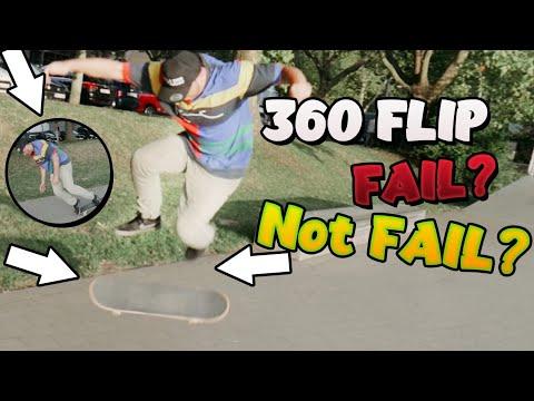360 Flip...Schaff ich den geilsten Flip der Welt?!