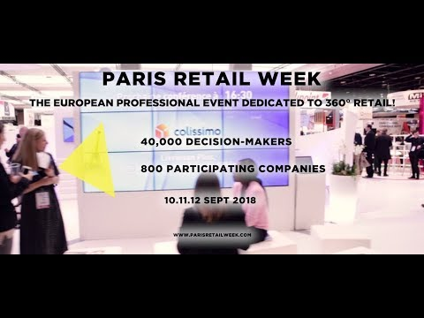 #ParisRetailWeek 2018 - The Official Teaser
