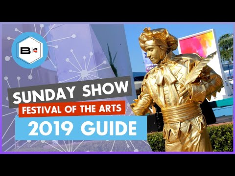 Guide to the 2019 Festival of the Arts at Epcot