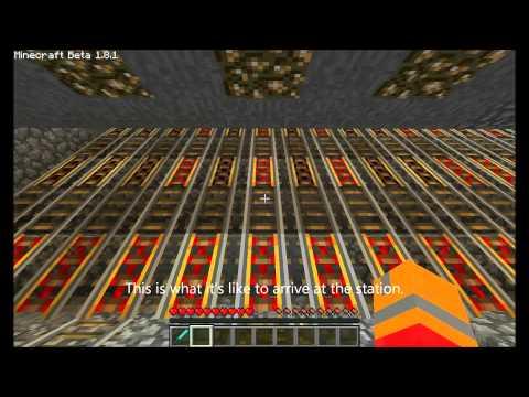 Minecraft Train Station (REVAMPED)
