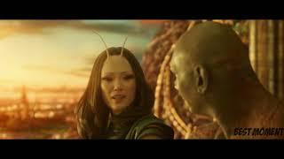 Милый разговор Мантис и Дракс - Стражи галактики 2