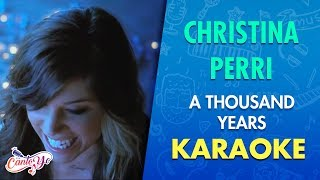 Christina Perri - A thousand years (Karaoke) | CantoYo